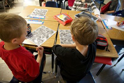 Students in the Northwest R-1 School District, outside St. Louis in Jefferson County.