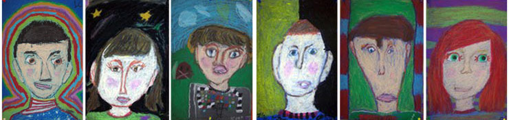 These revealing self-portraits were created by third graders, and suggest a range of emotions and self images that young children can display. Research suggests that, while rare, suicidal gestures can be displayed by children age six or even younger. More frequently, young children can exhibit separation or general anxiety disorders. If left unrecognized or untreated, these may lead to clinical depression in later years, which can predispose teens and young adults to thoughts of suicide. Experts urge schools, parents and communities to engage with children as young as six with prevention messaging that is safe, age-appropriate and positive-focused to build protective factors.